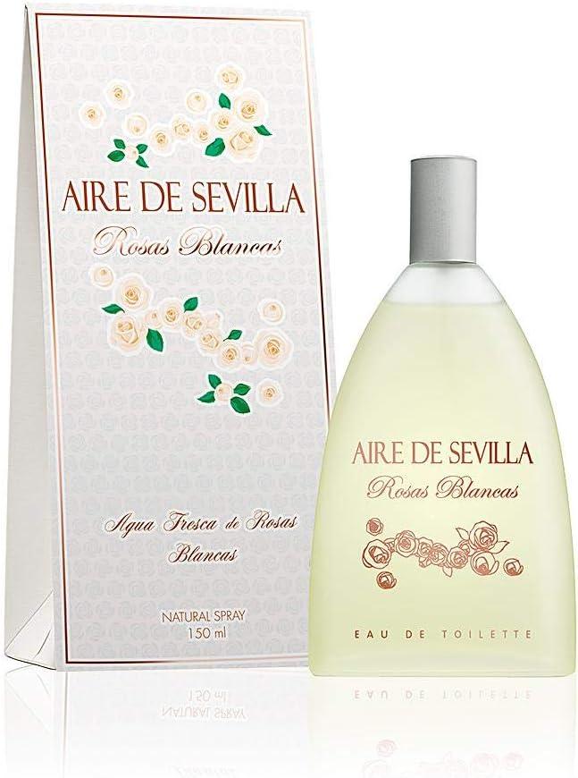 Aire de Sevilla Edición Rosas Blancas - Eau de Toilette 150 ml: Amazon.es: Belleza