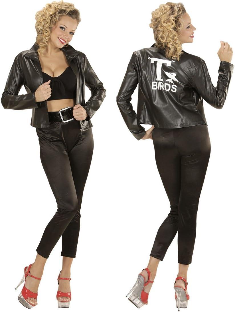 NET TOYS Traje Mujer años 51 Disfraz Adulta Rockabilly S 34/36 ...