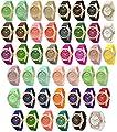 Wholesale Lot Of 10 Jelly Geneva's Women Watch 7805