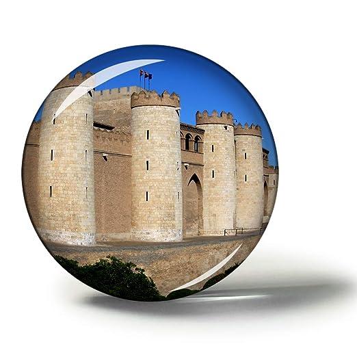 Hqiyaols Souvenir España Alhafili Palace Zaragoza Imanes Nevera ...