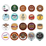 : Custom Variety Pack Coffee Sampler for Keurig K-Cup Brewers, 20 Count