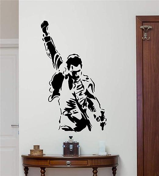 pegatinas de pared y murales Freddie Mercury Tatuajes de pared ...