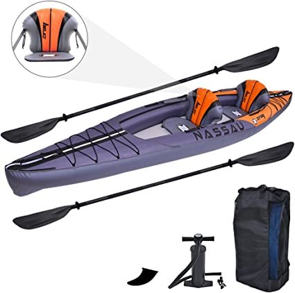 Amazon.com: Zray - Kayak hinchable para 2 personas, 13.0 x ...