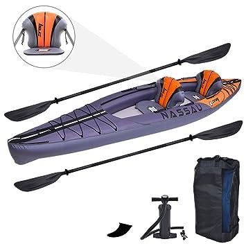 Zray 2 Personas Nassau Kayak Inflable, 13 pies 4 Pulgadas x ...