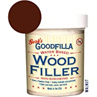 Water-Based Wood & Grain Filler - Walnut - 8 oz by Goodfilla | Replace Every Filler & Putty | Repairs, Finishes…