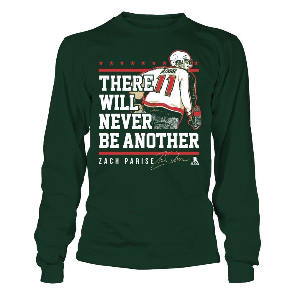 the best attitude 55966 99f27 Amazon.com: Zach Parise Never Underestimate T-Shirt ...