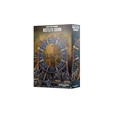 Games Workshop: Warhammer 40,000: Chaos Space Marines Noctilith Crown: Toys & Games