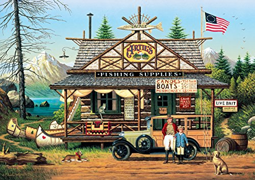 Buffalo Games Charles Wysocki - Proud Lil' Angler - 300 Large Piece Jigsaw Puzzle