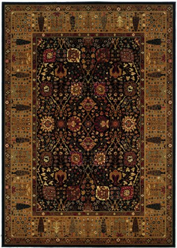 Couristan 0621/2597 Royal Kashimar Cypress Garden/Persian Red 2-Feet 2-Inch by 8-Feet 11-Inch Runner Rug
