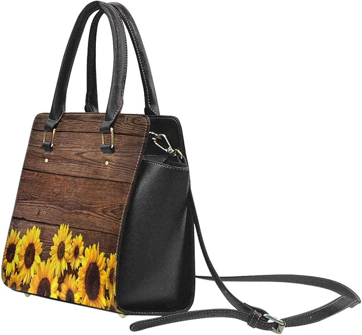 INTERESTPRINT Attack of the Asteroid on the Planet in the Universe Womens Purses Handbags Ladies Tote Bag Shoulder Bags