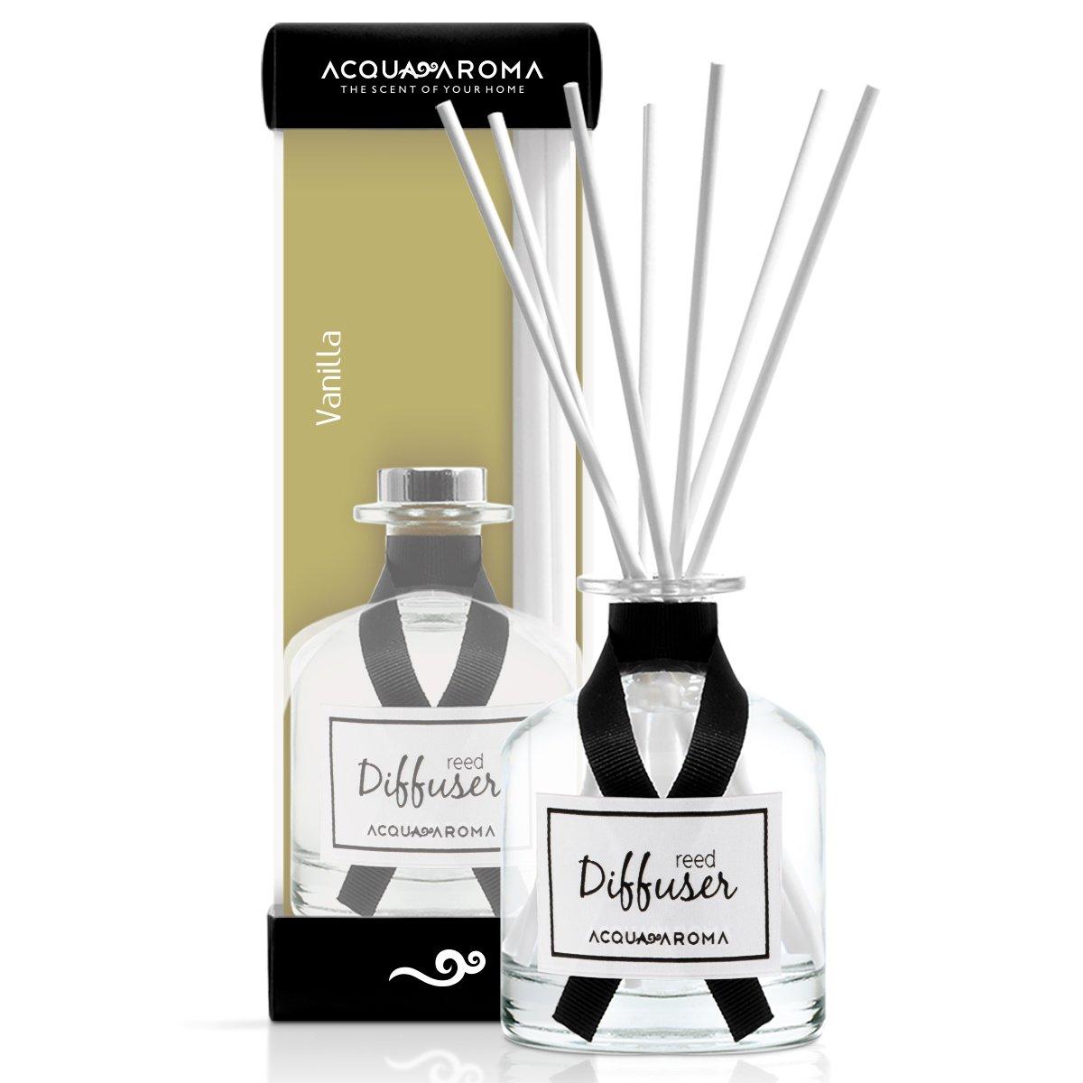 Acqua Aroma Everyday Collection Vanilla Reed Diffuser 8.1 FL OZ (240ml)
