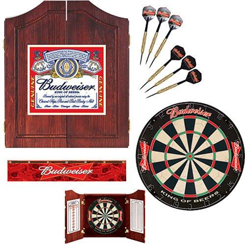 Budweiser® 99192 Label Dartboard and Cabinet Kit