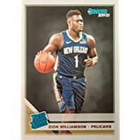 $21 » 2019-20 Panini Donruss - Zion Williamson - Rated Rookie - New Orleans Pelicans NBA Basketball…