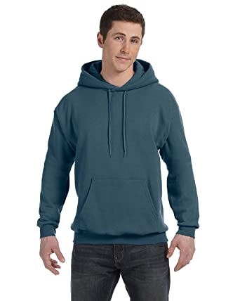 e1c9ebd1 Hanes P170 - EcoSmart Hooded Sweatshirt at Amazon Women's Clothing ...
