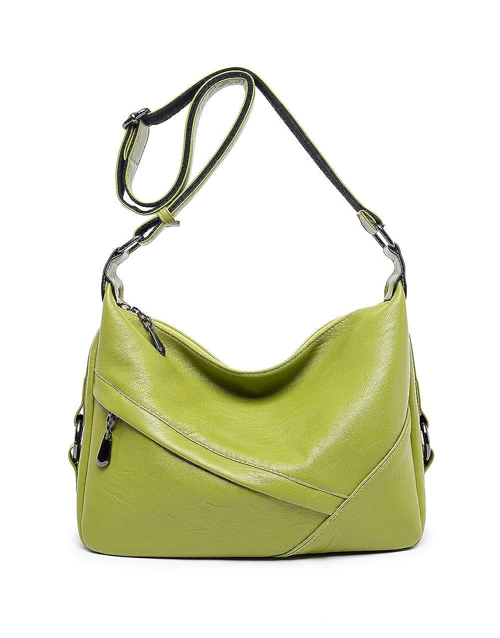 Women/'s Retro Sling Shoulder Bag from Covelin Leather Crossbody Tote Handbag New