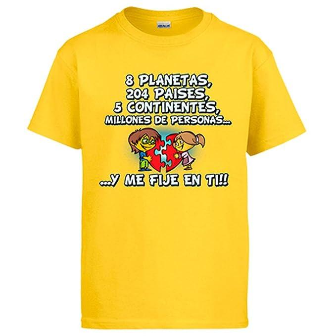 Diver Camisetas Camiseta Regalo Frase de Amor San Valentín Bonito: Amazon.es: Ropa y accesorios