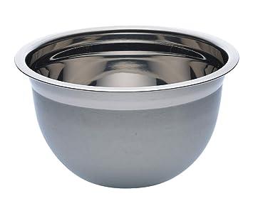Kitchen Craft Deluxe - Cuenco de acero inoxidable (4 L)
