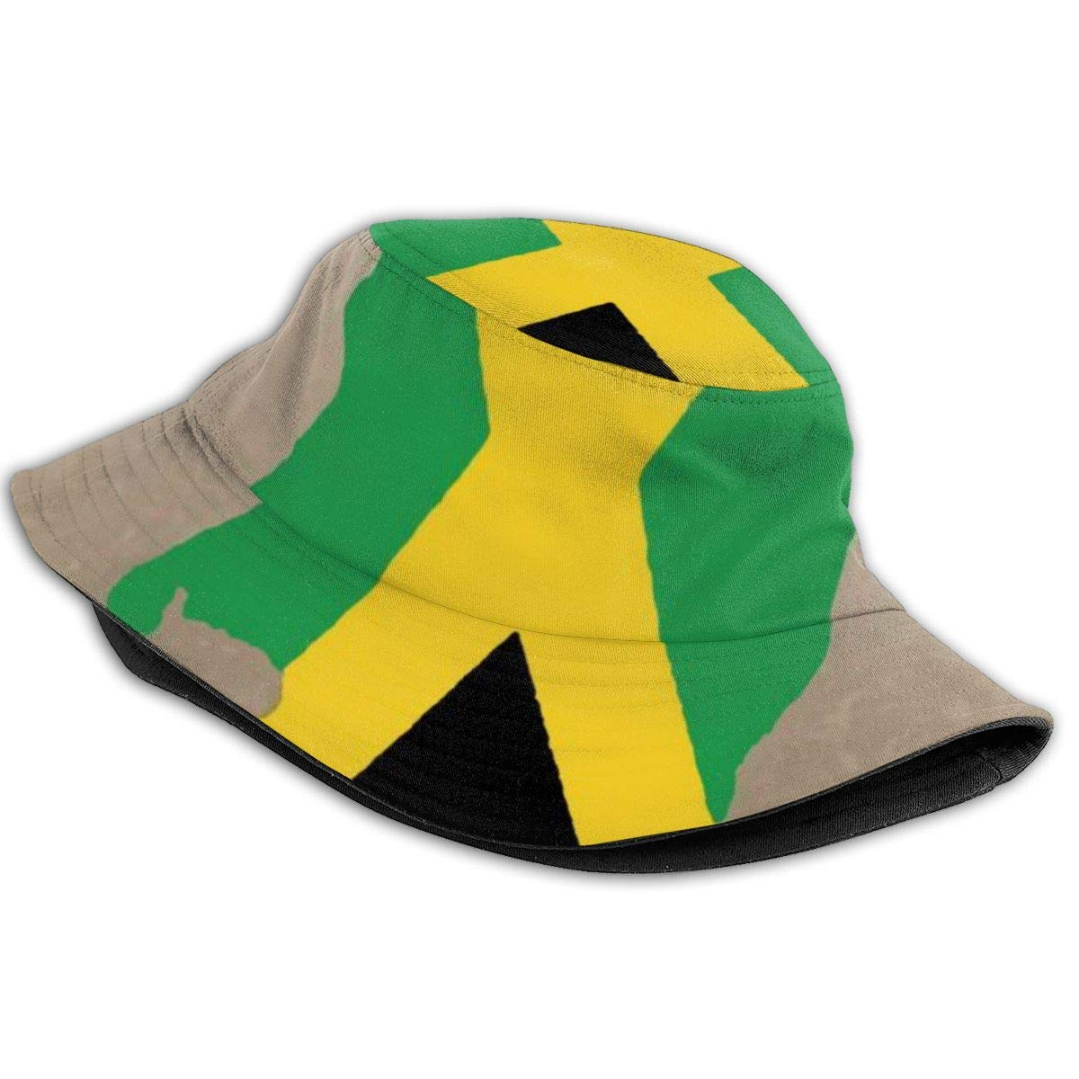 Boys and Girls 100/% Polyester Jamaican Flag Mesh Cap Low Profile Trucker Mesh Cap for Unisex