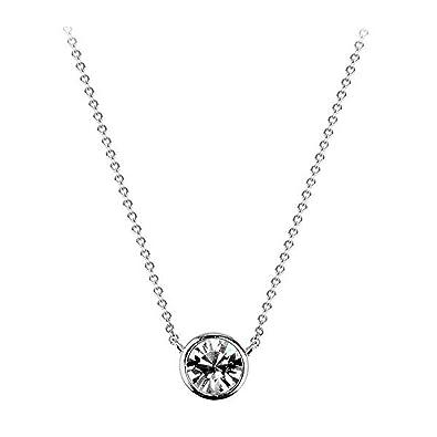 Amazon 2018 simple delicate small single diamond pendant amazon 2018 simple delicate small single diamond pendant necklace 200929 jewelry aloadofball Images
