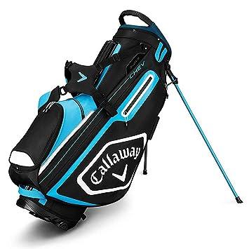 Callaway Chev Bolsa para Palos de Golf, Hombre, Negro/Azul ...