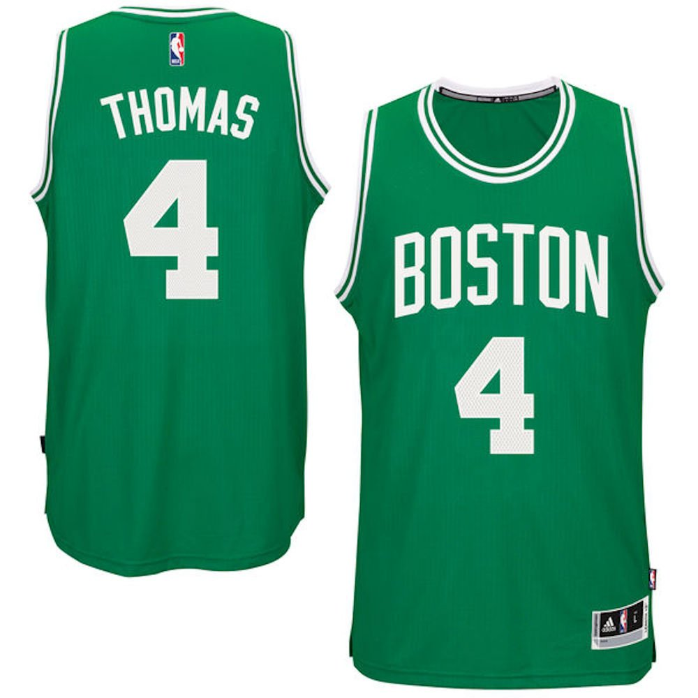 Amazon.com   Isaiah Thomas Youth Boston Celtics Green Replica Basketball  Jersey by Outerstuff   Sports   Outdoors 93abeea8b