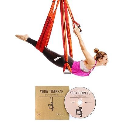 2848d7993 Amazon.com   YOGABODY Naturals Yoga Trapeze  Official  - Yoga Swing ...
