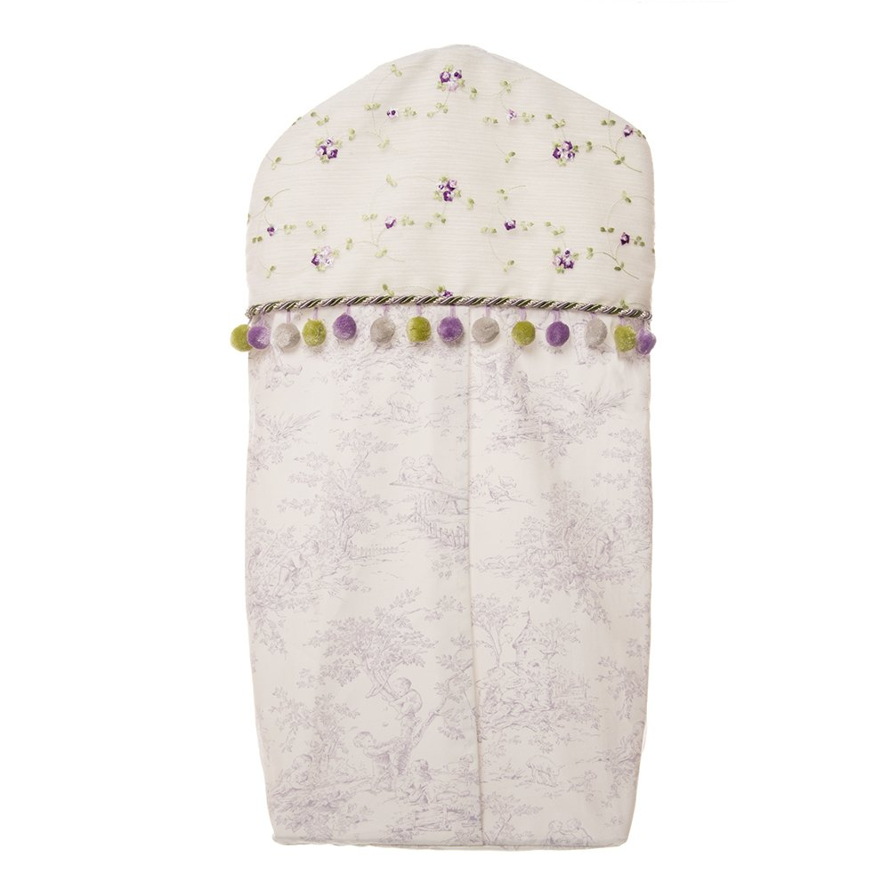 Glenna Jean Penelope Diaper Stacker, Lavender/Mint/White by Glenna Jean