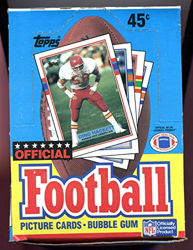 1989 Topps Football Cards Wax Pack Box New from factory (Topps Football Wax)