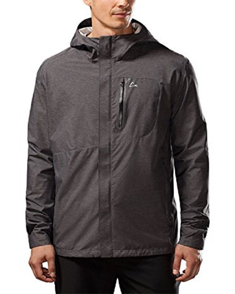 Paradox Waterproof Breathable Rain Jacket Men's - Black by Paradox