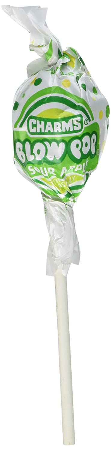 Blow Pops Sour Apple (Pack of 48)