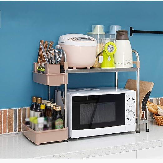 ZZHF yushizhiwujia Estantes de cocina / microondas rack de ...