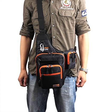 Amazon.com : iLure Waterproof Fishing Bags Canvas Bolsa De ...