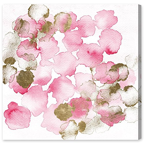 (Pretty In Pink Bouquet by Oliver Gal | Contemporary Premium Canvas Art Print. The Abstract Wall Art Decor Collection. 20x20 inch, Pink)