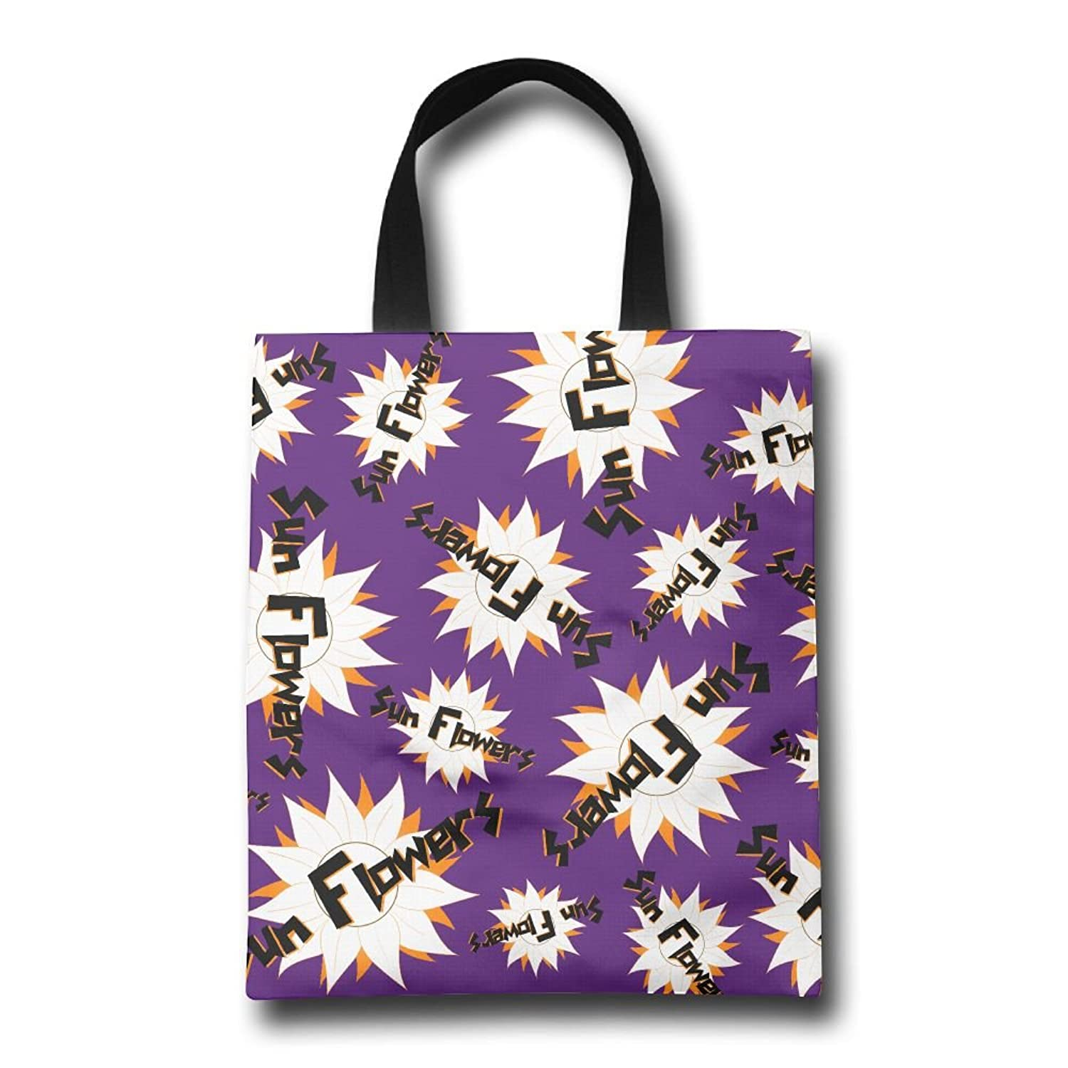 Sun Flowers Shopping Bags Heavy Year Reusable Grocery Tote Shopping Bag