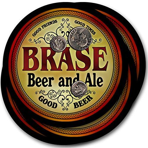 Braseビール& Ale – 4パックドリンクコースター   B003QX7HUY