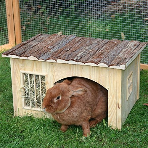 wangado casetta in legno per conigli nani porcellini d