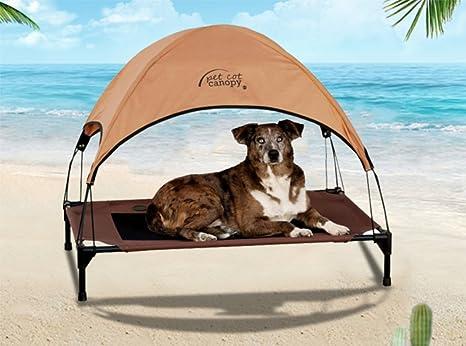 Letti A Baldacchino Per Cani : Reayou dog a baldacchino elevated pet letto rialzato letto per