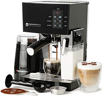 EspressoWorks All-in-one Espresso Machine Under $400