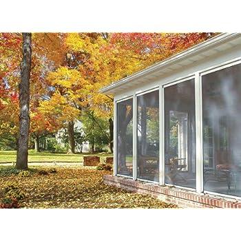 Disappearing, Retractable Screen For Porch, Patio, Lanai, Gazebo, Large  Windows (