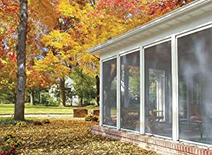 Amazon Com Disappearing Retractable Screen For Porch