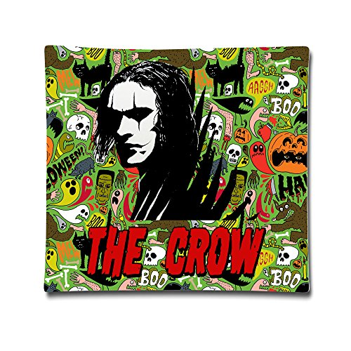 DAMEI The Crow Fantasy Revenge Story Custom Throw Pillows 1818 Inch Blank For Warm (Eric Draven Costume)
