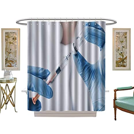 Custom Made Shower Curtains.Amazon Com Luvoluxhome Shower Curtains Sets Bathroom Inject
