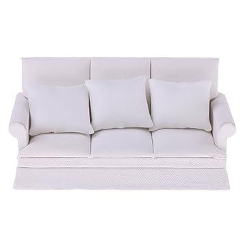 Amazon.es: FITYLE Modernos Muebles En Miniatura Sofá Cama ...