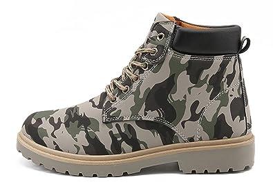 Men's Cozy Camo Chukka Ankle British Style Combat Work Desert boots