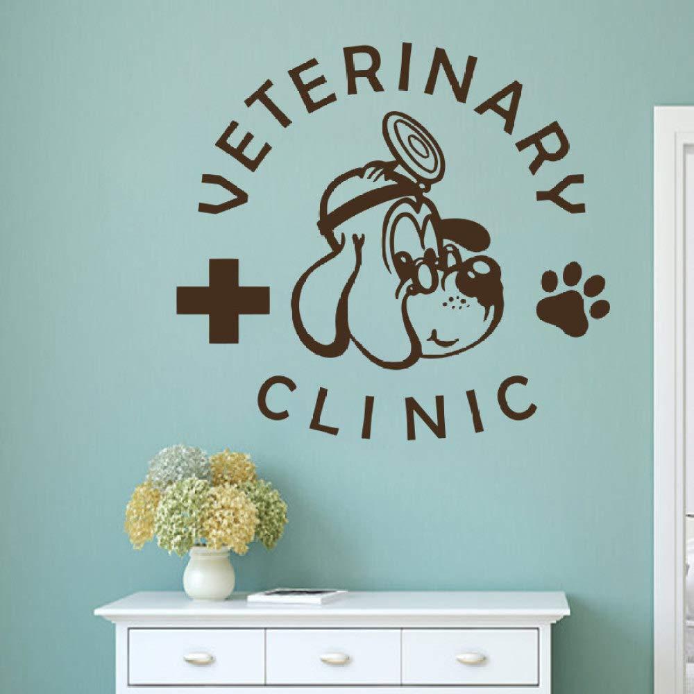Servicios de veterinaria para mascotas Logotipo Etiqueta de la ...