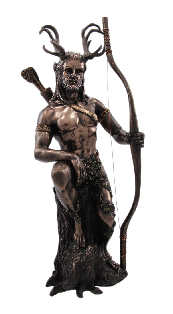 Herne The Hunter Bronzed Finish Statue Justice