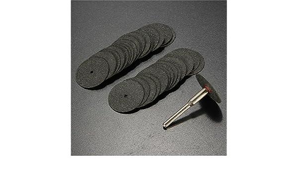 Juego de 36 discos de corte para Dremel Minicraft Rotary Tool de 3,175 mm con v/ástago de 24 mm