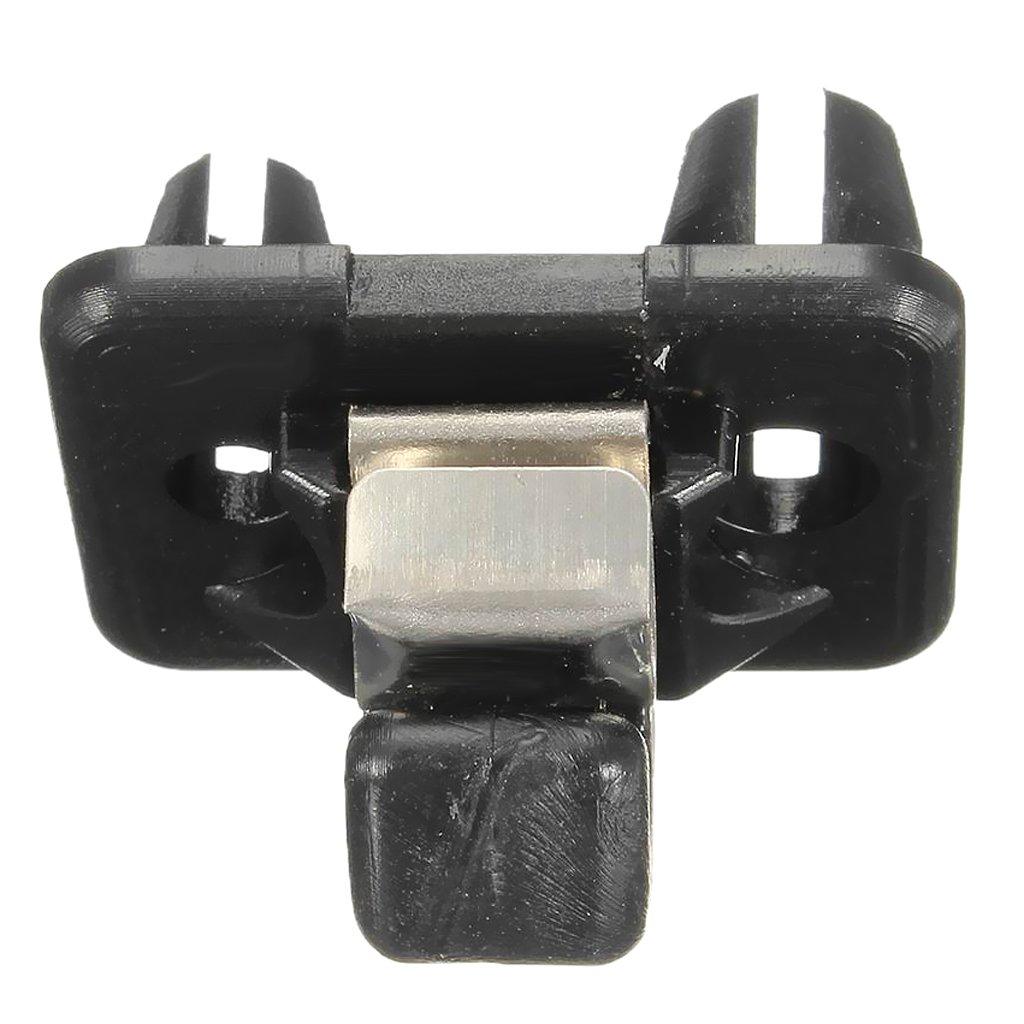 black Homyl Auto Inner Bracket Sun Visor Hook Clip for Audi A1 A3 S3 A4 S4 A5 S5 Q3 Q5 TT