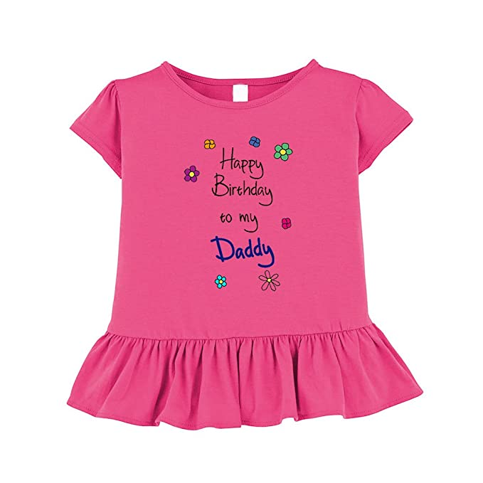 Amazon Cute Rascals Happy Birthday To My Daddy Toddler Girl