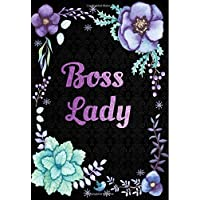 Boss Lady: Calendar Schedule Organizer, Weekly Monthly Planner 2018: 2018 Planner with Inspirational Quotes, Planner 2018 Academic Year, 2018 Monthly Weekly Planner, Organizer 2018